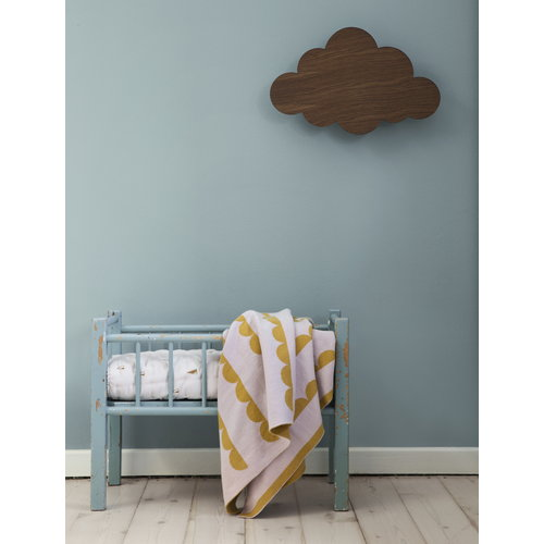 Ferm Living Cloud wall lamp, smoked oak