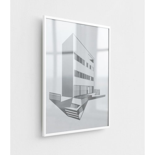 By Lassen Illustrate frame A3, white