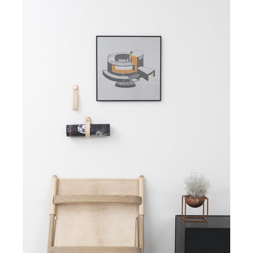 By Lassen Illustrate frame 42x42, black