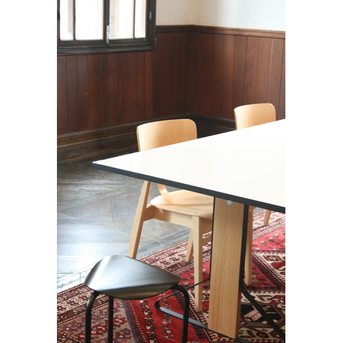 Artek Domus chair, lacquered birch