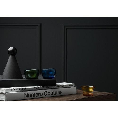 Skultuna Kin tealight holder set of 3, glass, green - yellow - blue