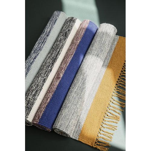 Ferm Living Melange bathroom rug, rose-blue