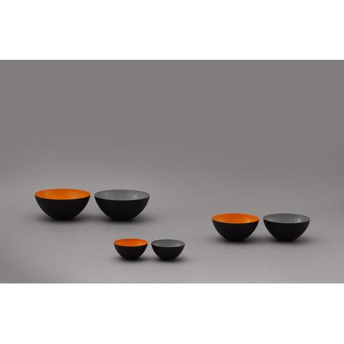 Normann Copenhagen Krenit bowl 60 cl, black-white
