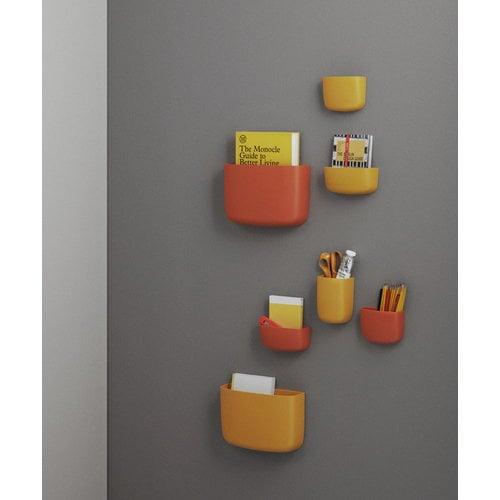 Normann Copenhagen Pocket s�ilytin 4, keltainen