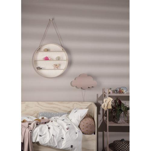 Ferm Living Cloud wall lamp, dusty rose