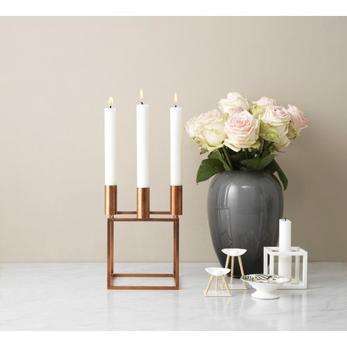 By Lassen Candles 16 pcs, white