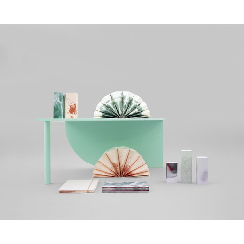 Hay Pliss� folder Colour wash, A5