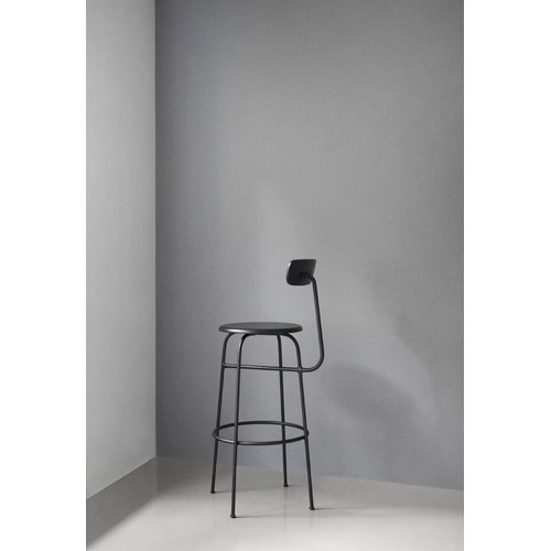 Menu Afteroom bar stool, black