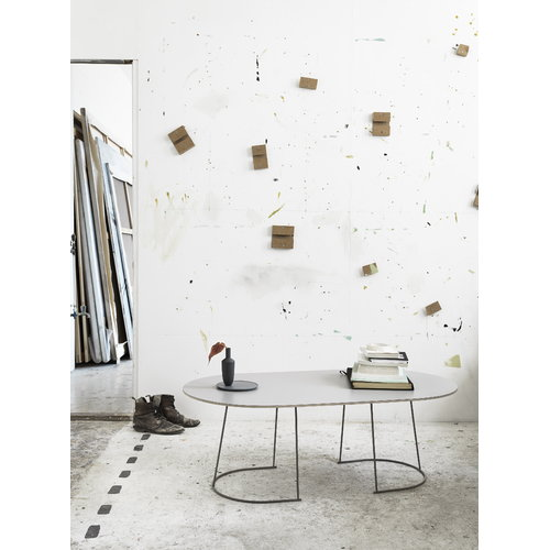 Muuto Airy coffee table, large, grey