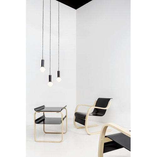 Artek Aalto side table 915, black