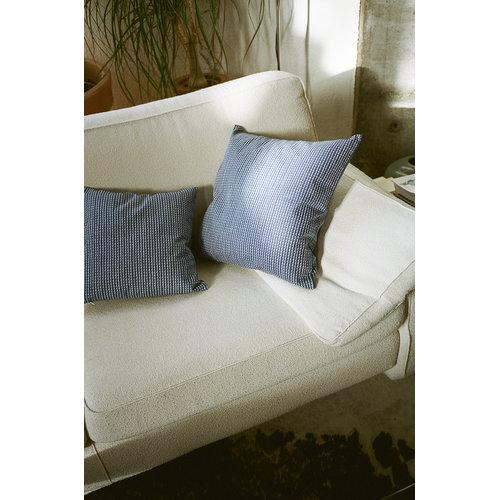 Artek Rivi tyynynp��llinen, 50 x 50 cm, sininen-valkoinen