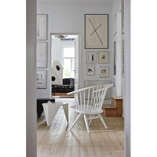 Artek Crinolette tuoli, valkoinen