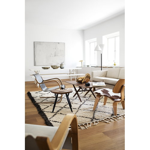 Artek Pirkka bench, brown-black