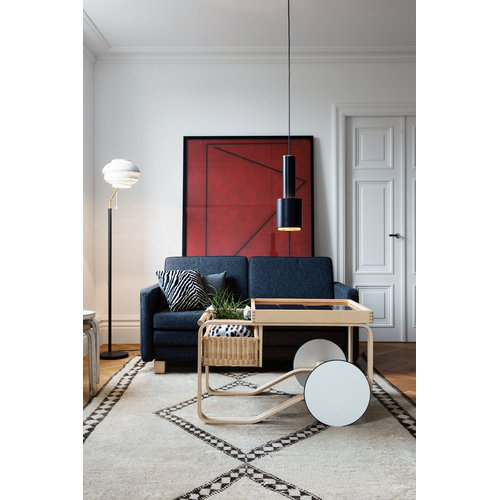 Artek Aalto ceiling lamp A110, black