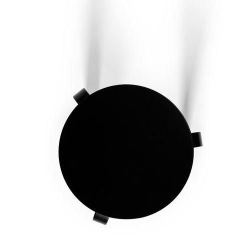 Artek Aalto jakkara 60, maalattu musta