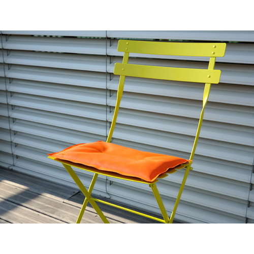Fermob Seat cushion for  Bistro Metal chair, carrot