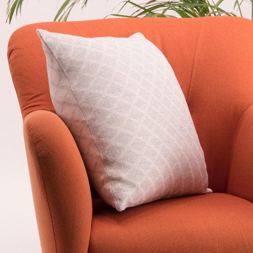 Lang� Merino cushion cover, light grey-white