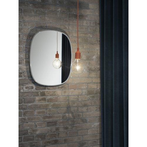 Muuto Framed mirror, small, grey