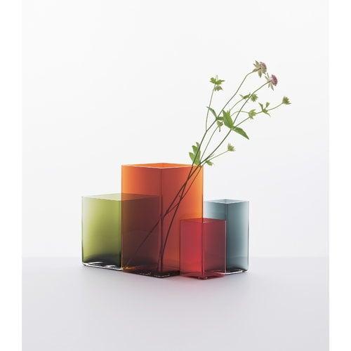 Iittala Ruutu vase, 205 x 270 mm, copper