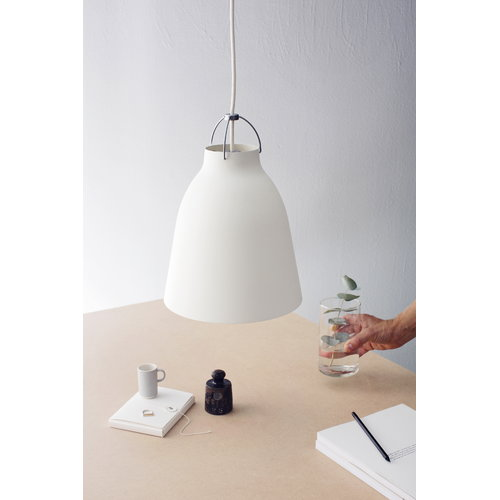 Lightyears Caravaggio P2 lamp, matt white