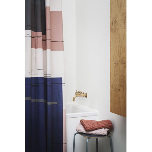 Ferm Living Colour Block shower curtain