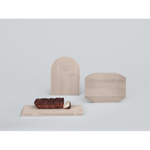 Hay Field cutting board, rounded