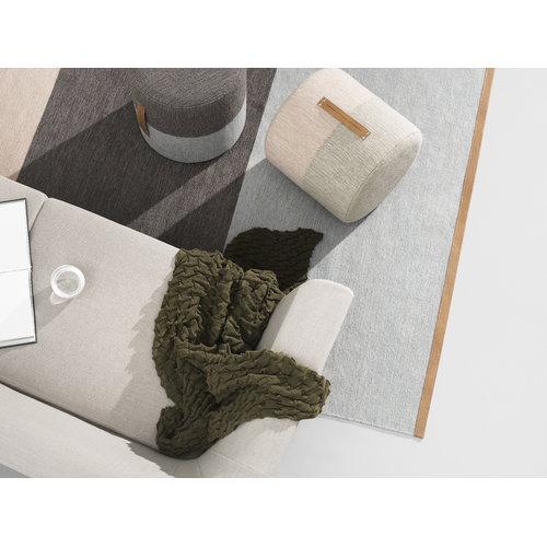 Design House Stockholm Fields rug, 170 x 240 cm, brown