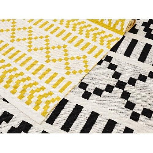 Forme Pikseli matto, kelta-valkoinen