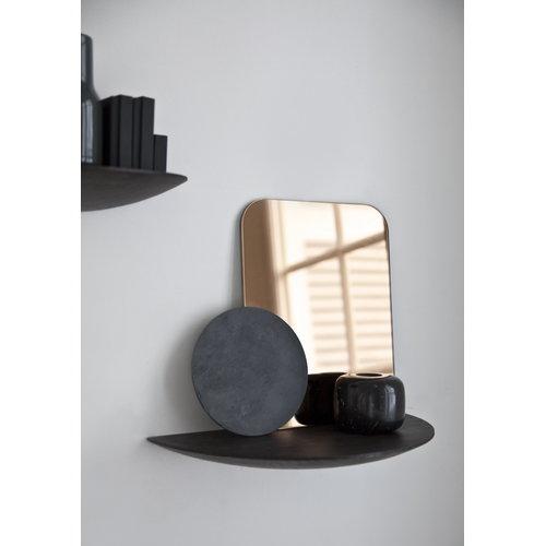 Menu Gridy Fungi shelf, medium, black