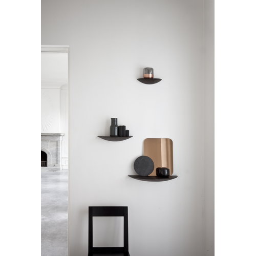 Menu Gridy Fungi shelf, small, black
