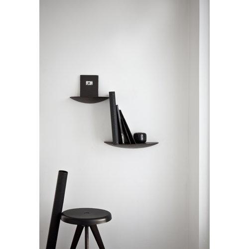 Menu Gridy Fungi shelf, small, black