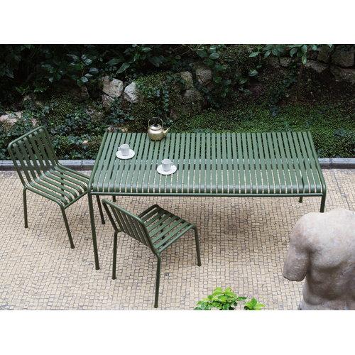Palissade p�yt� 160 x 80 cm, oliivinvihre�