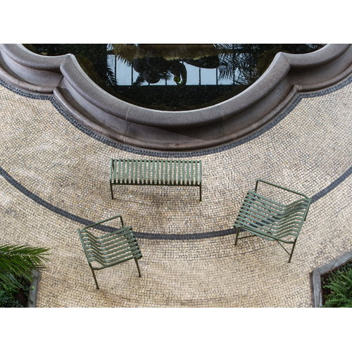 Hay Palissade dining armchair, olive