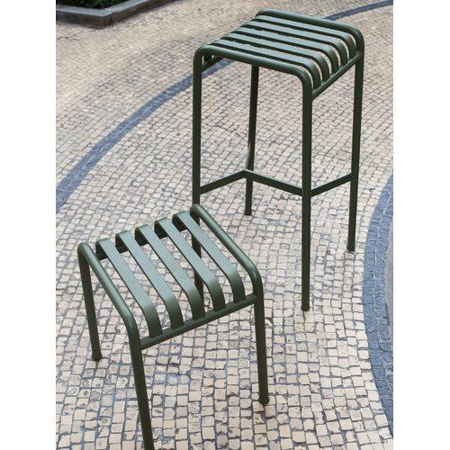 Hay Palissade bar stool, olive