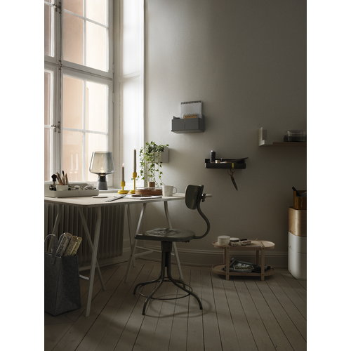 Iittala Leimu lamp small, grey