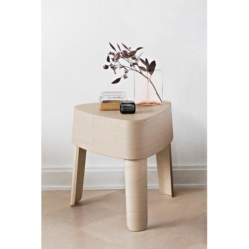 Iittala Vitriini box 108 x 108 mm, clear/oak
