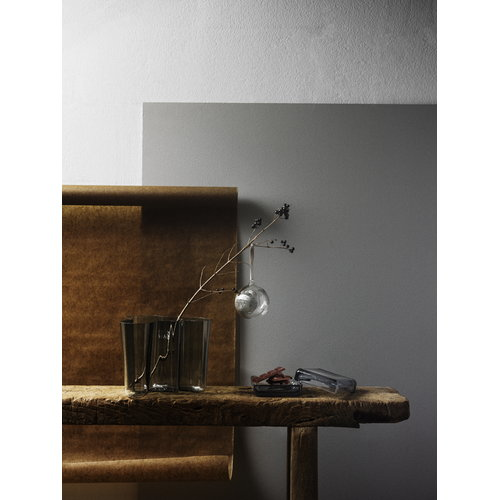 Iittala Vitriini rasia 108 x 108 mm, harmaa