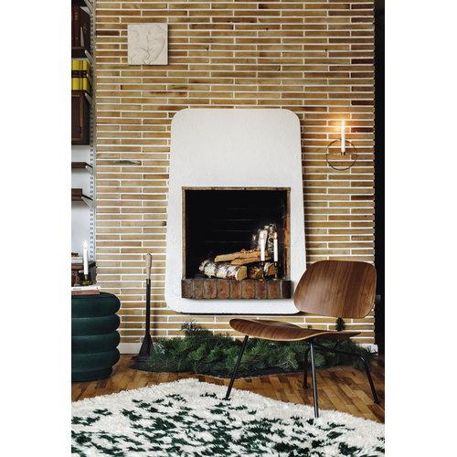 Finarte Suovilla matto, 140 x 200 cm, valkoinen