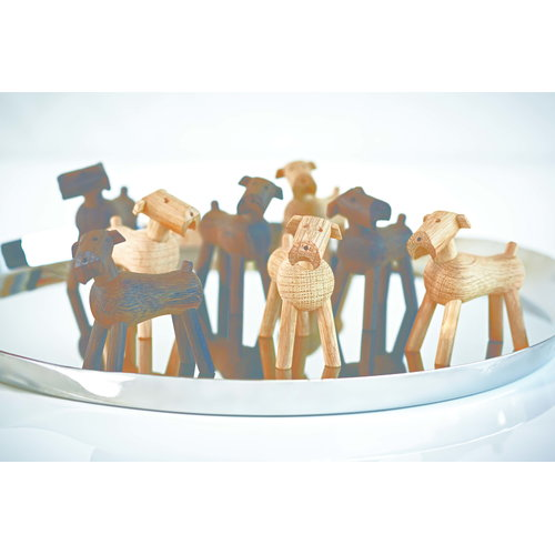 Kay Bojesen Dog Tim, light brown
