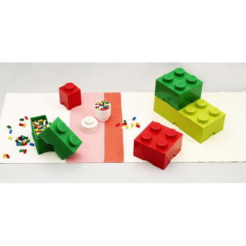 Room Copenhagen Lego Storage Brick 4, green