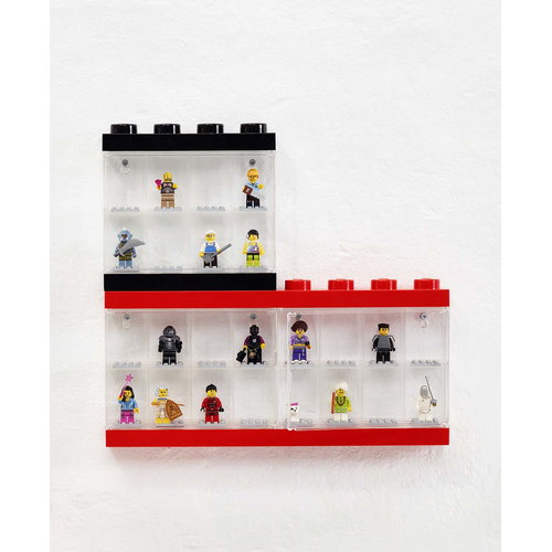 Room Copenhagen Lego display case, small, black