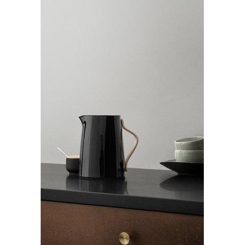 Stelton Emma vacuum jug for tea, black