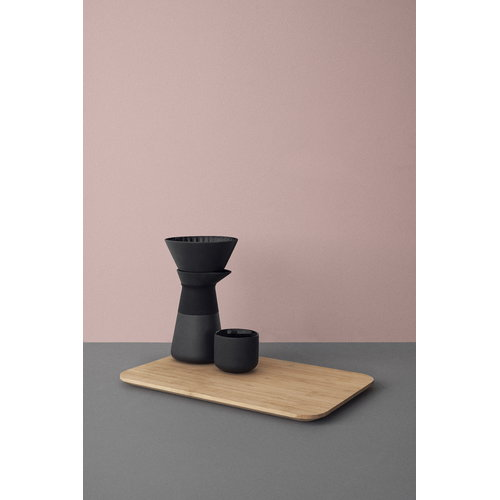 Stelton Theo tea cup with coaster