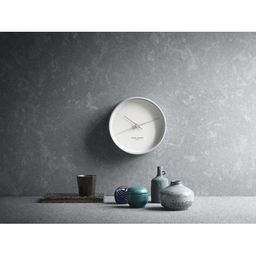 Georg Jensen HK Clock white, large