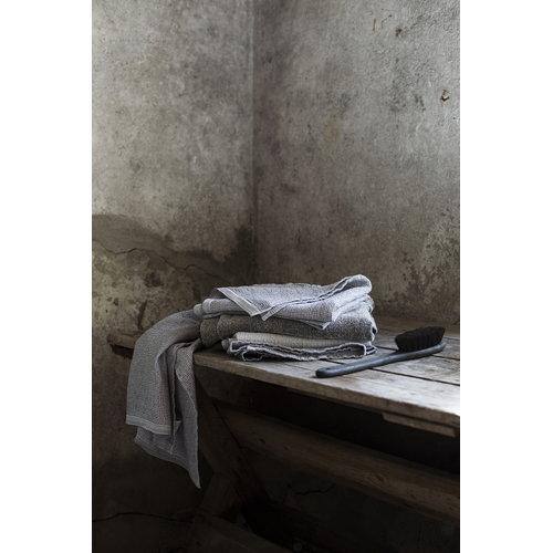 Lapuan Kankurit Terva hand towel, white-grey