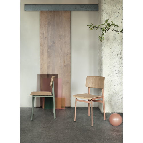 Muuto Loft chair, dusty rose - oak