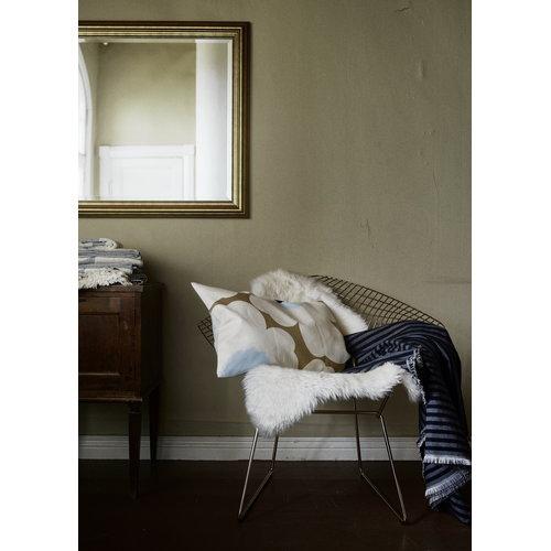 Marimekko Unikko cushion cover 40 x 60 cm, beige-off-white-blue