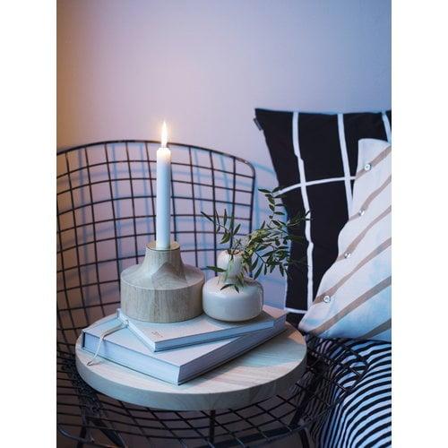 Marimekko Tiiliskivi tyynynp��llinen, 50 x 50 cm, musta-valkoinen