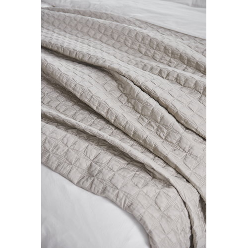 Matri Tuike bed cover, sand