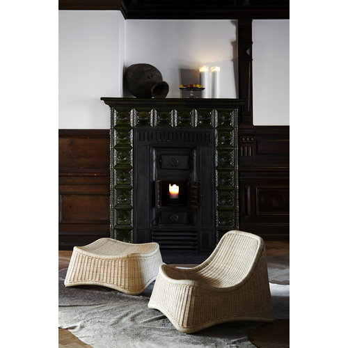 Sika-Design Nanna Ditzel Chill chair and stool, rattan